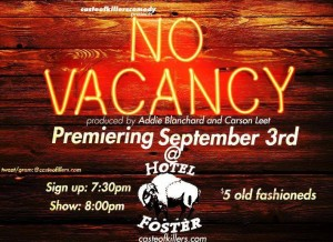 No Vacancy Open Mic @ The Hotel Foster | Milwaukee | Wisconsin | United States