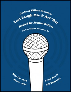 Last Laugh Open Mic @ Art Bar | Milwaukee | Wisconsin | United States