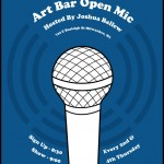 Art Bar Open Mic Blue