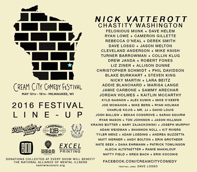 Cream City Comedy Fest