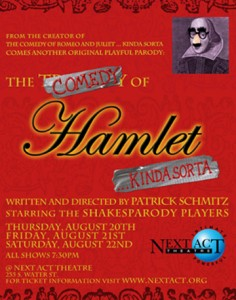 FUNDRAISER for The Comedy of Hamlet...kinda sorta @ Comedy Sportz
