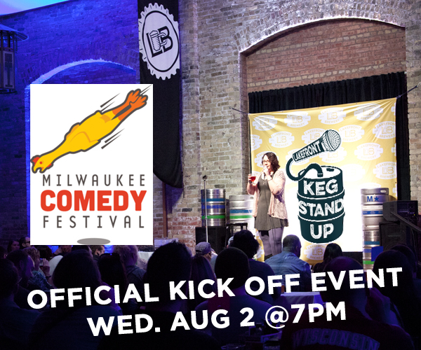 Official Comedy Fest Kick Off @ Lakefront Brewery | Milwaukee | Wisconsin | United States