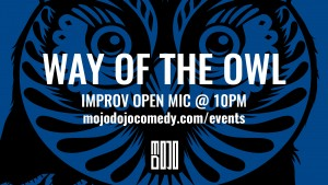 Way of the Owl @ CSz Milwaukee - Farina Arena |  |  |