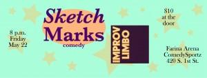 Sketch Marks, with Improv Limbo @ ComedySportz (Farina Arena)