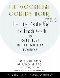 The SockiTumi Comedy Hour @ Sake Tumi | Milwaukee | Wisconsin | United States