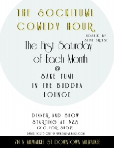 The SockiTumi Comedy Hour @ Sake Tumi | Milwaukee | Wisconsin | United States