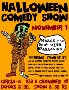 Halloween Comedy Show! @ Circle-A | Milwaukee | Wisconsin | United States
