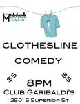 clothesline comedy