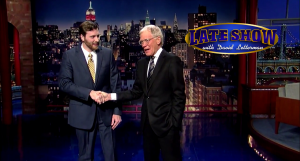 Johnny Beehner on Late Show