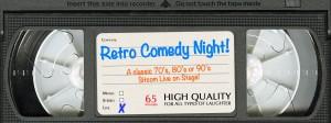 Retro Comedy Night @ in the Arcade Theatre at The Underground Collaborative