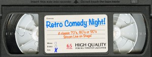 Retro Comedy Night! @ in the Arcade Theatre at The Underground Collaborative