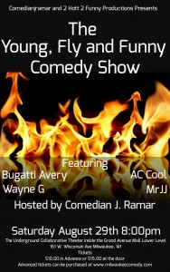 Young, Fly and Funny Comedy Show @ in the Arcade Theatre at The Underground Collaborative | Milwaukee | Wisconsin | United States