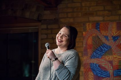 Comic Kaitlin McCarthy Photo by David Szymanski