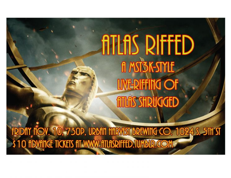 Atlas Riffed - A Live Riffing Of Atlas Shrugged @ Urban Harvest Brewing Company | Milwaukee | Wisconsin | United States