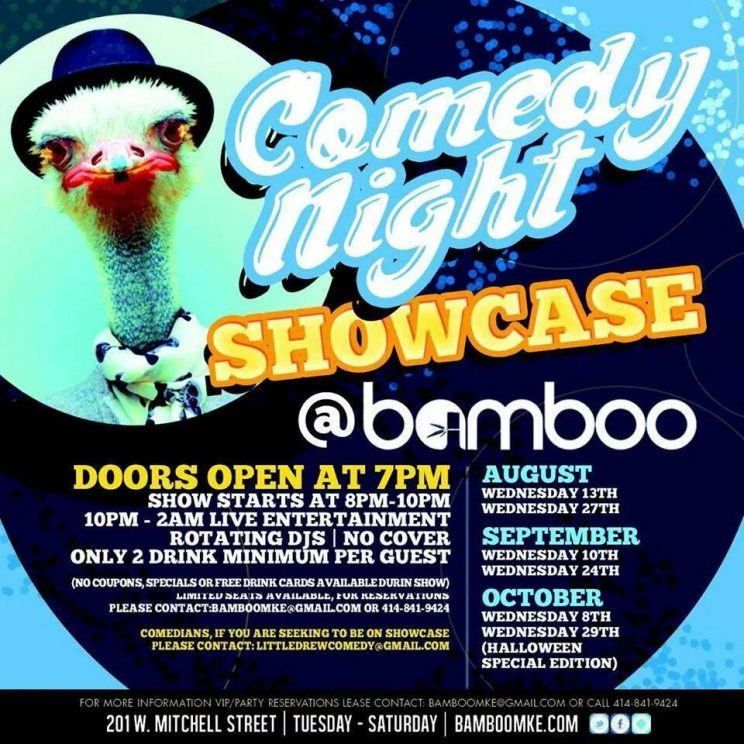 Comedy Night at Bamboo Lounge  @ Bamboo Lounge | Milwaukee | Wisconsin | United States