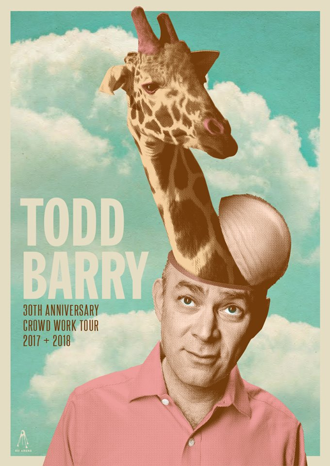 Todd Barry - 30th Anniversary Crowd Work Tour! @ The Underground Collaborative | Milwaukee | Wisconsin | United States