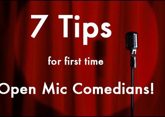 7 Tips for Open Mics