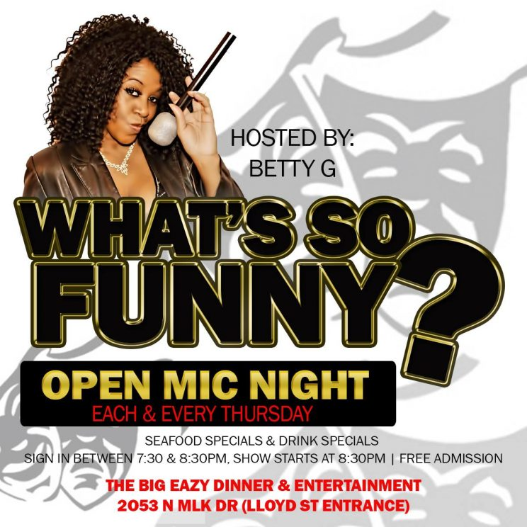 What's So Funny Open Mic @ The Big Eazy | Milwaukee | Wisconsin | United States